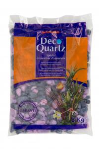 Gravier Lilas/Violet - Déco Quartz - Aquaprime - 2 kg