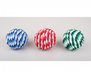 Jouet Rope Ball - Ø 6.5 cm