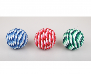 Jouet Rope Ball - Ø 9  cm