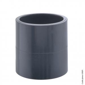 Manchon - GIRPI - PVC - Femelle-Femelle - Ø 63 mm