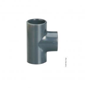 Té simple 90° - GIRPI - PVC - Femelle-Femelle - Ø 20 mm - Lot de 2