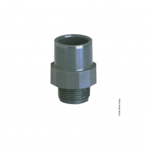 Embout fileté - GIRPI - PVC - Mâle-Femelle - Ø 63-75 mm - Filetage 2
