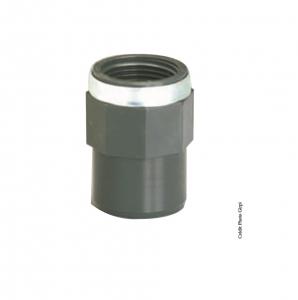 Manchon taraudé - GIRPI - PVC - Mâle-Femelle - Ø 20-25 mm - Taraudage 1-2 - Lot de  2
