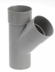 Culotte de branchement mâle femelle - Girpi - 40 mm - 45°