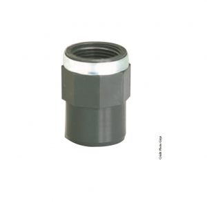 Manchon taraudé - GIRPI - PVC - Mâle-Femelle - Ø 32-40 mm - Taraudage 1 1-4