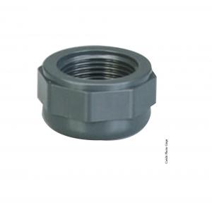 Bouchon taraudé - GIRPI - PVC - Ø 50 mm - Taraudage 1 1-2