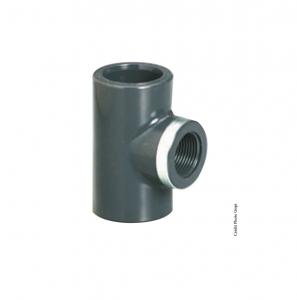 Té réduit taraudé 90° - GIRPI - PVC - Ø 20 mm - Taraudage 1-2