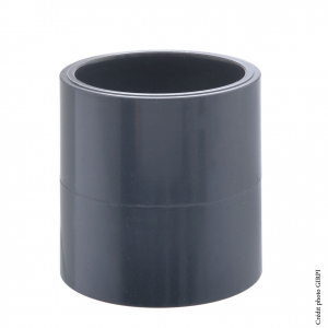Manchon - GIRPI - PVC - Femelle-Femelle - Ø 20 mm - Lot de 2