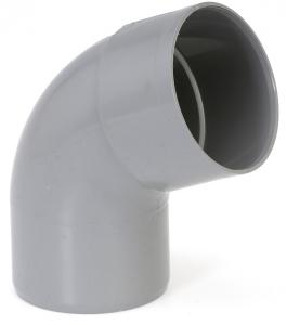 Coude simple mâle femelle - Girpi - 100 mm - 67°30
