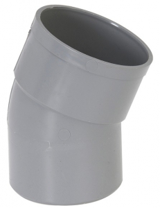 Coude simple mâle femelle - Girpi - 200 mm - 45°