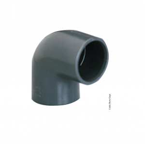 Coude simple 90° - GIRPI - PVC - Femelle-Femelle - Ø 25 mm - Lot de 2