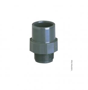 Embout fileté - GIRPI - PVC - Mâle-Femelle - Ø 32-40 mm - Filetage 1