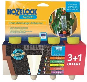 Aquasolo x 3 + 1 gratuit - pot Ø 45-60 cm - Hozelock