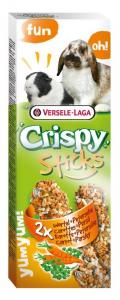 Sticks Crispy Carottes & Persil pour Lapins et Cobayes - Versele-Laga - 110 g