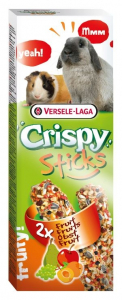 Sticks Crispy Lapins Cobayes Fruits - Versele-Laga - 110 g