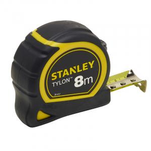 Mesure Bi-matière Tylon - Longueur 8 m - Largeur 25 mm - Stanley