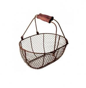 Panier fil de fer - Esschert Design - 42,5 x 32,3 x 20,2 cm