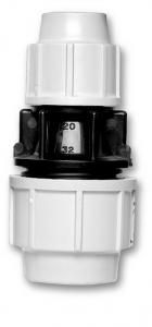 Raccord à compression manchon réduit - Plasson - Ø 40/32 mm