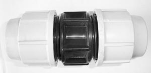 Raccord à compression manchon égal - Plasson - Ø 2 cm