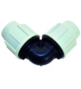 Raccord à compression Plasson coude égal 7050 - ø 32 mm