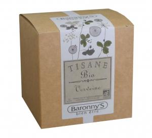 Tisane Verveine BIO - Baronny's - 20 sachets