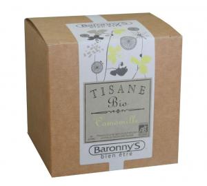 Tisane Camomille BIO - Baronny's - 20 sachets