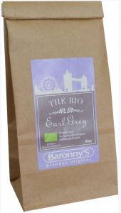 Thé Earl Grey BIO - Baronny's - Vrac 50 g