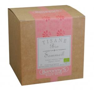 Tisane Sommeil BIO - Baronny's - 20 sachets