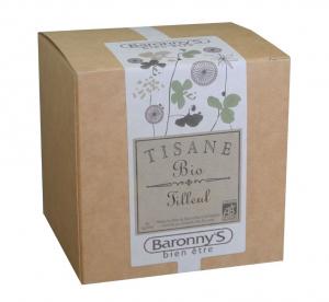 Tisane Tilleul BIO - Baronny's - 20 sachets