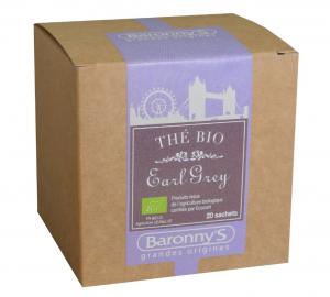 Thé Earl Grey BIO - Baronny's - 20 sachets