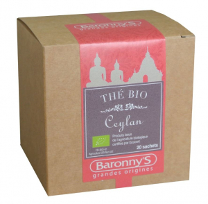 Thé Ceylan BIO - Baronny's - 20 sachets