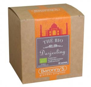 Thé Darjeeling BIO - Baronny's - 20 sachets