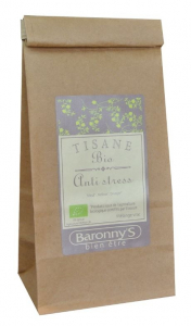 Tisane Anti stress BIO - Baronny's - Vrac 50 g