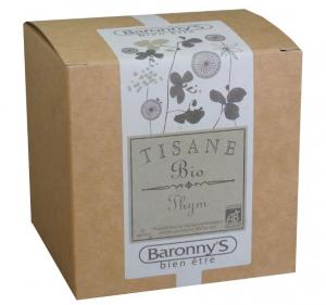 Tisane Thym BIO - Baronny's - 20 sachets