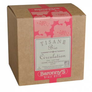 Tisane Circulation BIO - Baronny's - 20 sachets