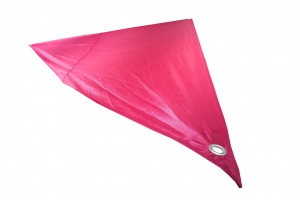 Voile d'ombrage triangulaire - Fuchsia - 2.8 x 2.8 x 4 m