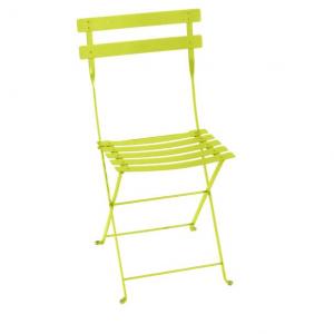 Chaise pliante Bistro - Fermob - Métal - Verveine