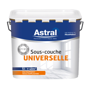 Peinture sous couche universelle - Astral - Qualité pro - 5 L