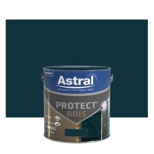 Peinture protect'Bois - Astral - Satin -vert basque  - 2.5 L