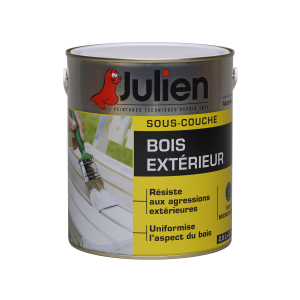 Peinture sous-couche - Peintures Julien - Bois extérieur - 2.5 L