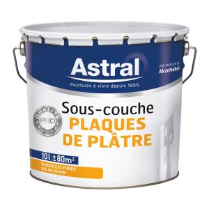 Peinture sous -couche plaques de plâtres - Astral - 10 L