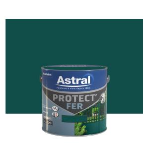 Peinture Protect'Fer - Astral - Brillant - Vert potager - 2 L