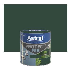 Peinture Protect'Fer - Astral - Brillant - Vert potager - 0.5 L