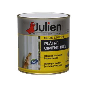 Peinture sous couche - Plâtre Ciment Bois - Peintures Julien - 2.5 L