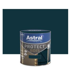 Peinture protect'Bois - Astral - Satin - Vert basque - 0.5 L