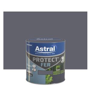 Peinture Protect'Fer - Astral - Brillant - Minerai - 0.5 L