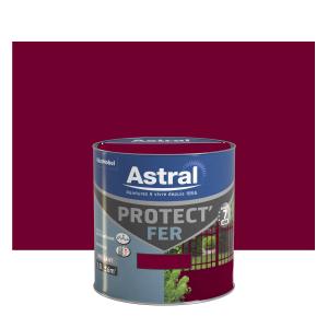 Peinture Protect'Fer - Astral - Brillant - Rouge basque - 0.5 L