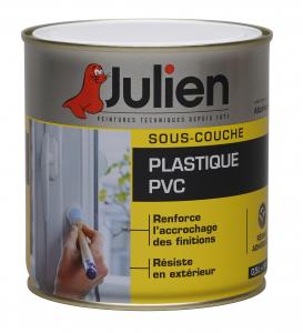 Peinture sous couche - Peintures Julien - Plastique/PVC - 0.5 L