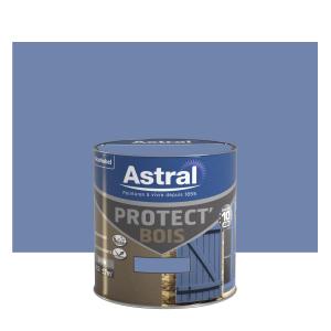 Peinture protect'Bois - Astral - Satin - Ciel d'été - 0.5 L