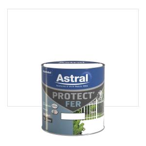 Peinture Protect'Fer - Astral - Brillant -  Blanc - 0.5 L